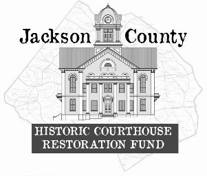 Jackson County Historic Courthouse Restoration Fund Logo