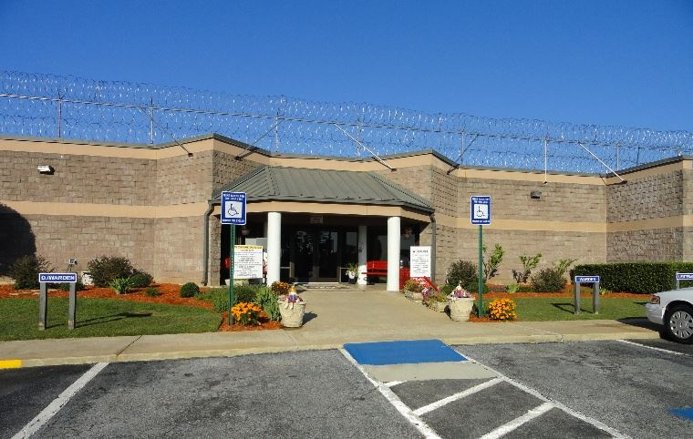 Jackson County Correctional Institute Entrance
